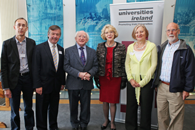 President Higgins keynote speaker Universities Ireland