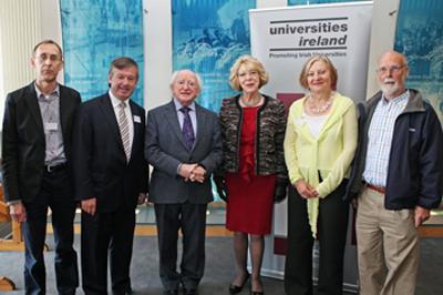 President Higgins keynote speaker Universities Ireland